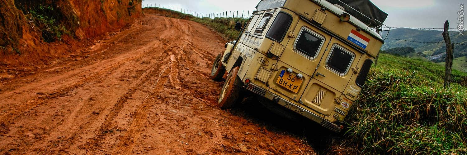 Overland off road - stuck in BRazil