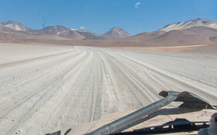 Overland off road adventure in south Bolivia; the Laguna Route
