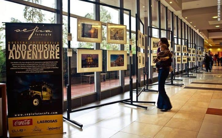 A Photo Exposition in Córdoba, Argentina
