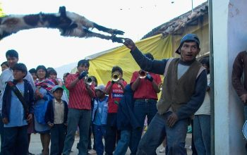 Bolivia Festivals – Hurling Sheep for Fun?