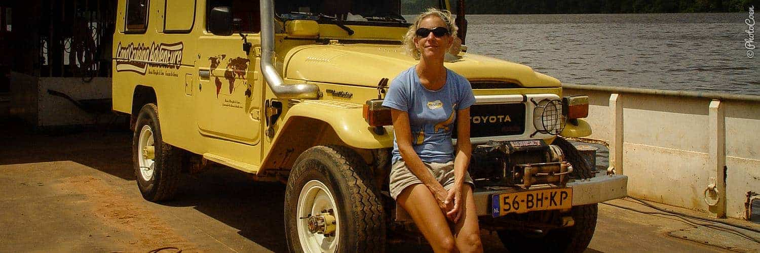 Overland Adventure; shipping the Land Cruiser across the Oiapoque River