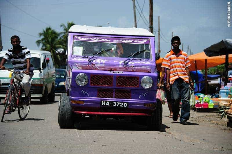 Guyana's Tapirs - Check out the Classic, once Popular Cars in Guyana