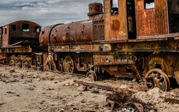 At the End of the Line – The Train Cemetery of Uyuni (Bolivia)