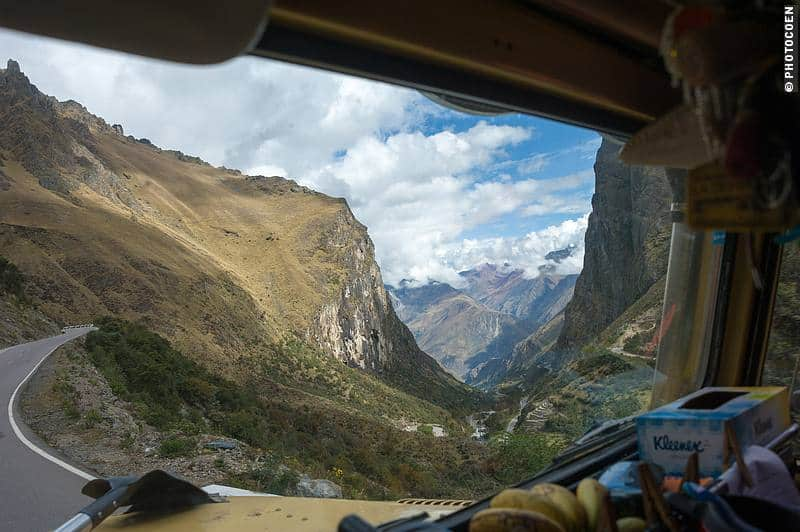 Hairpin Curves in Peru's Andes Mountains (©photocoen)