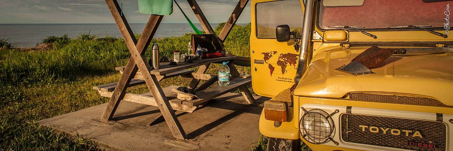 Overland Camping in French Guiana