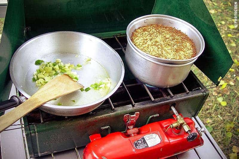 The Pros and Cons of the Coleman Stove - Why we Cook on Gasoline