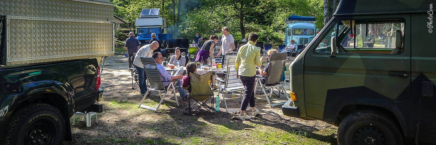 Overland vehicles and meeting in the Netherlands