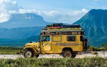 Accommodation & Overland Camping in Venezuela