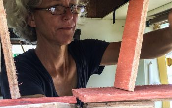 Remodeling the Land Cruiser (part 3) –Woodwork in Suriname