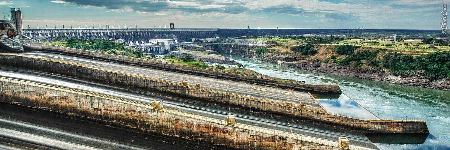 Visit Paraguay and check out the Itaipu Dam