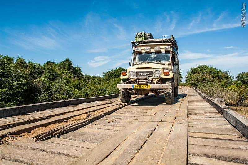 Pantanal adventure: traversing good and bad bridges