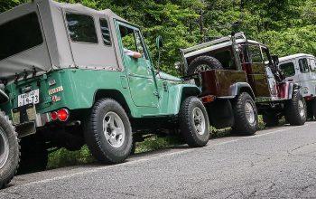 Land Cruiser 40 Meeting East (Mount Fuji, Japan)