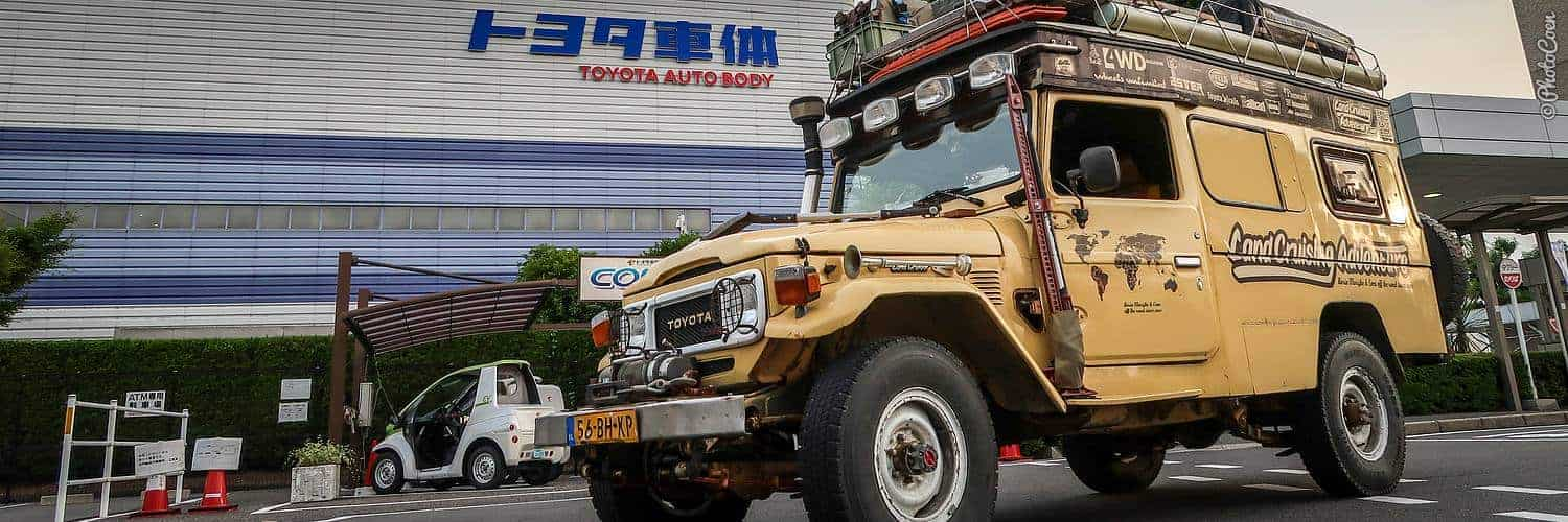 Overlanding in Japan; visiting the Land Cruiser factory