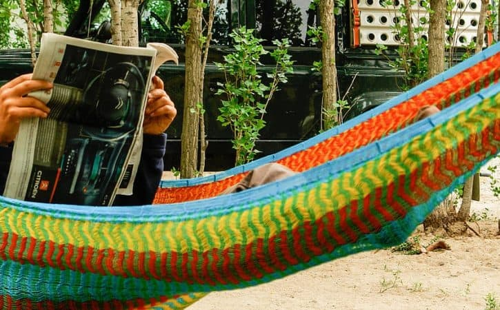 Overland gear; bring a hammock on your trip