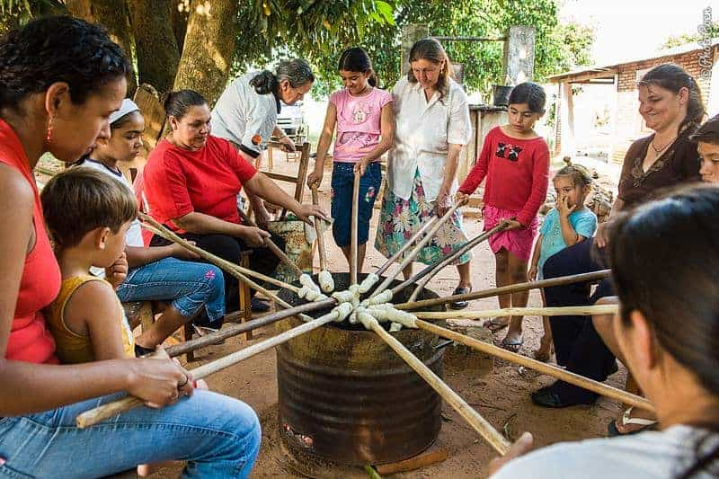 Later on our journey we heard another side of this story, from Germans who  had lived among the Paraguayans for eight years. They argued that the  Mennonites' ...