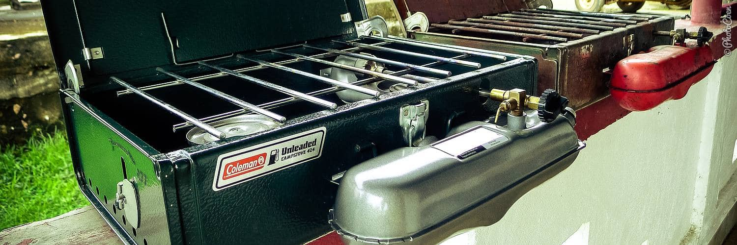 Overland cooking equipment: the Coleman gasoline stove