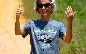 """""""Do you Carry any Landcruising Adventure T-shirts in your Car?"""""""