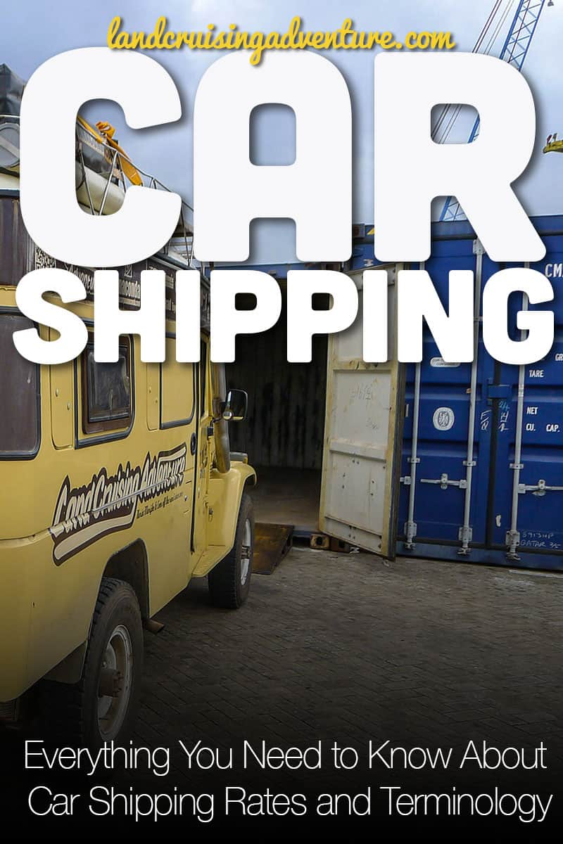 Everything you need to know about Car shipping rates