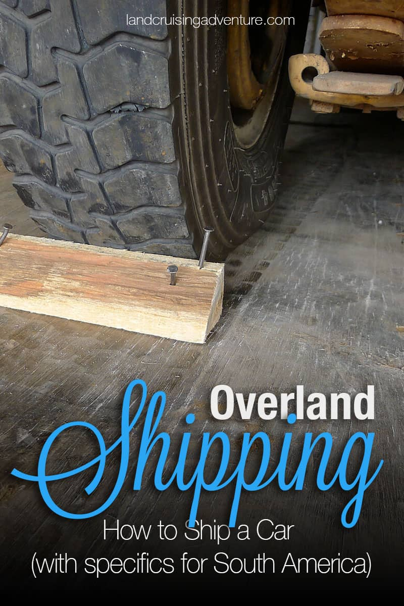 How to ship your overland vehicle
