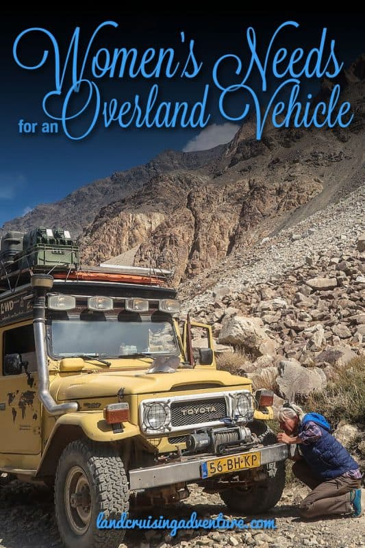 must have overland gear - working vehicle