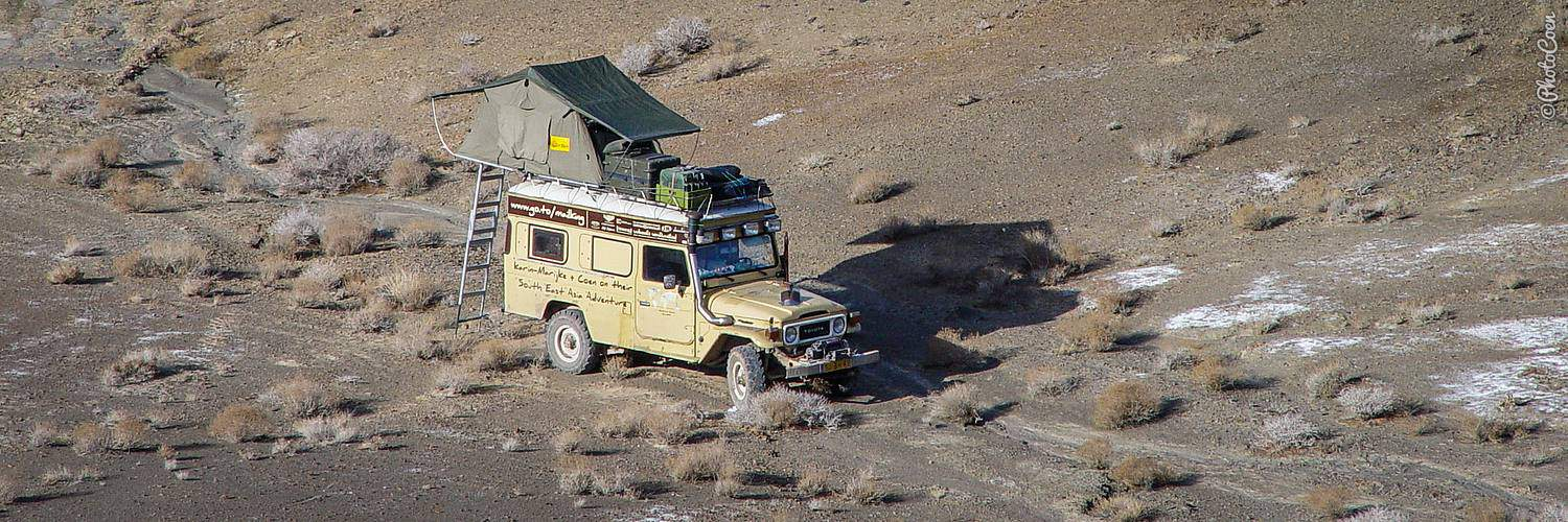 Having an Overland Adventure: camping in the desert
