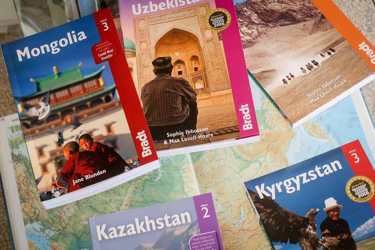 Bradt Guidebooks for Central Asia