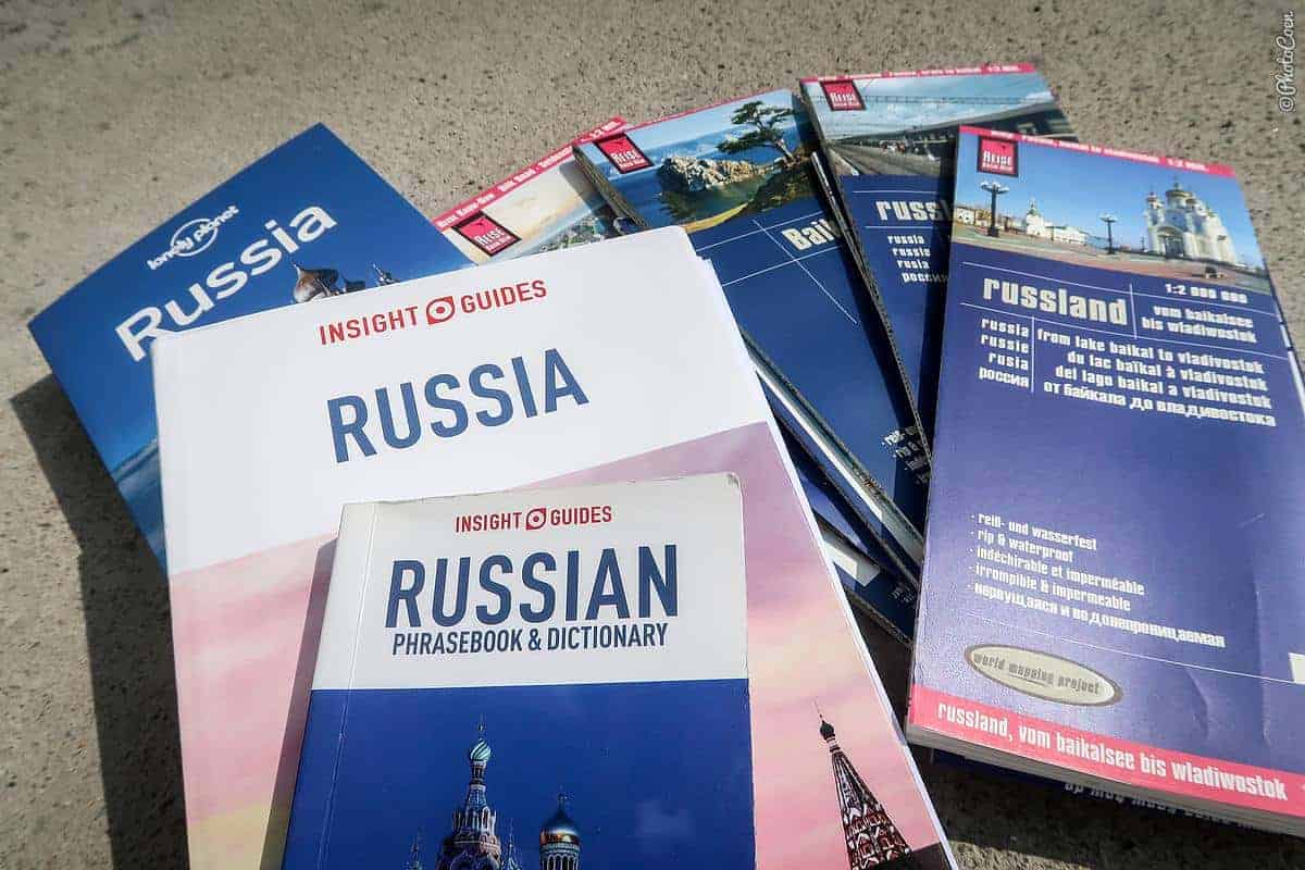 Guidebooks for russia