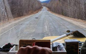 Windshield Views from the Russian Far East