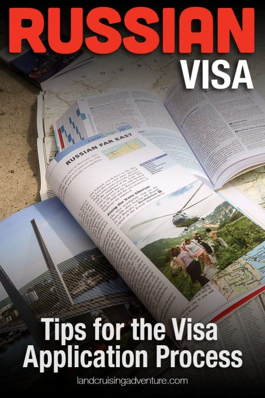Tips to get a visa for Russia