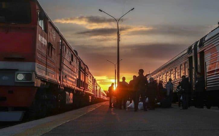 BAM train Russia