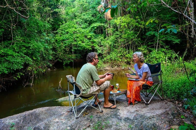 Overland Travel in the Amazon