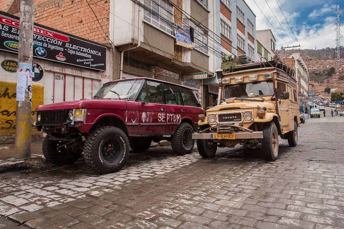 The Land Cruiser Restoration in Bolivia (1) - Starting the