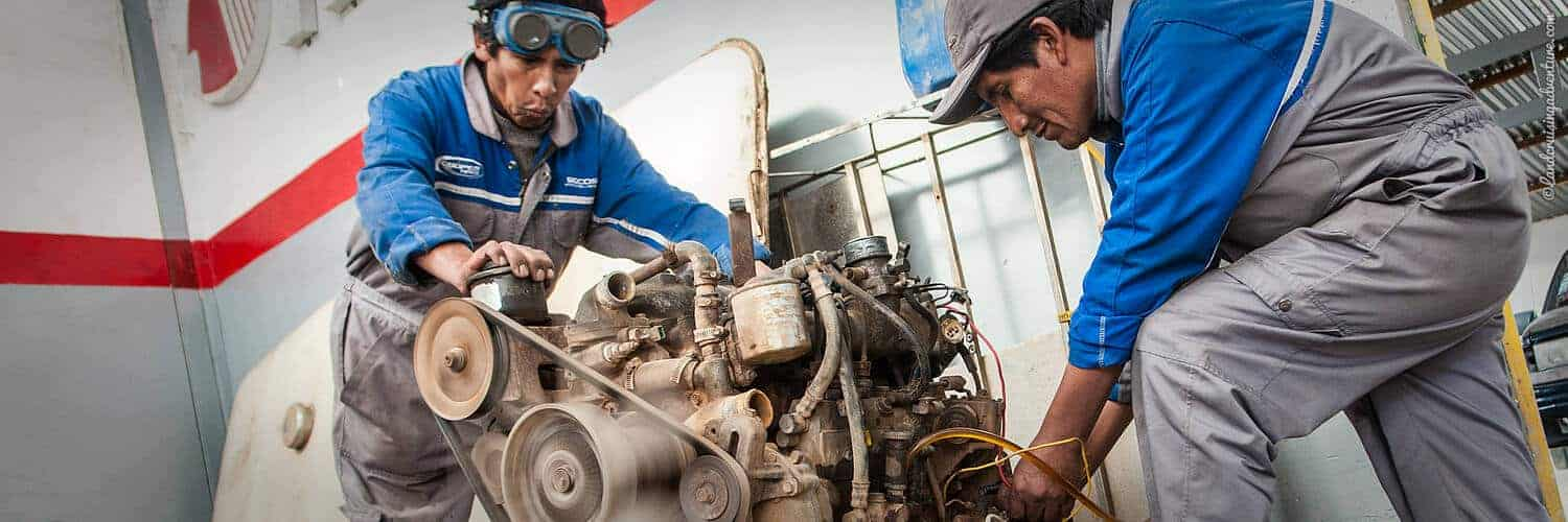Overland Travel Repairs - Engine Testing