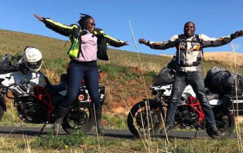 Throttle Adventures – The First Kenyan Couple to Motorcycle Around the World