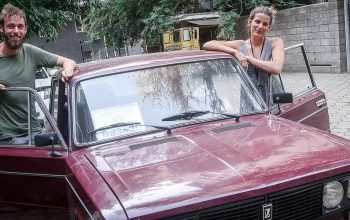 From Hitchhikers to Overlanders – Meet Kiki, Sebastiaan and a Kyrgyz Lada