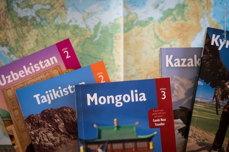 Bradt Travel Guides for Central Asia and Mongolia (©Coen Wubbels)