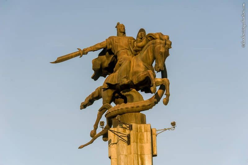 Places to see in Bishkek - Manas Statue Complex