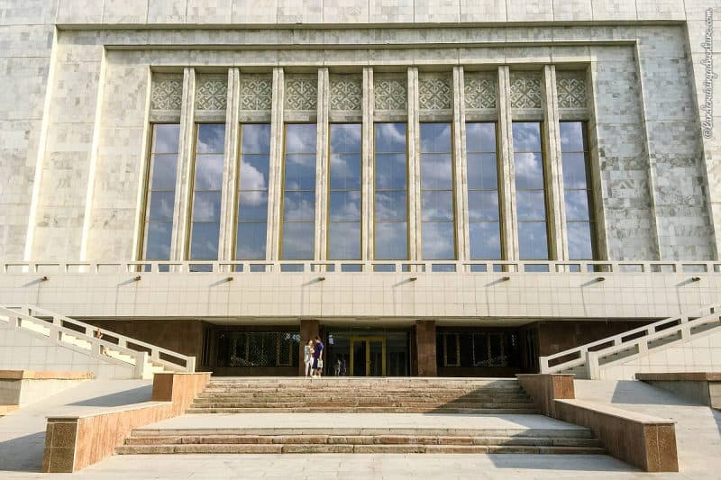 Places to visit in Bishkek: Architectural buildings