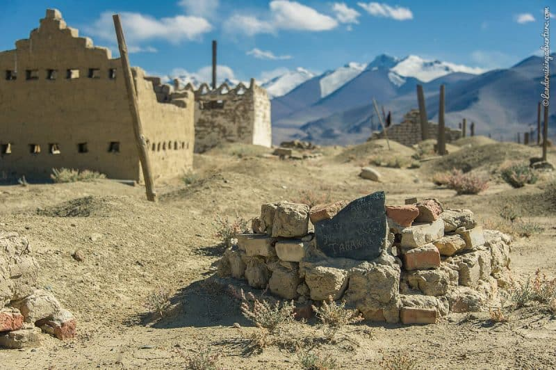 Cemetery in the Pamir Region, Tajikistan (©Coen Wubbels)