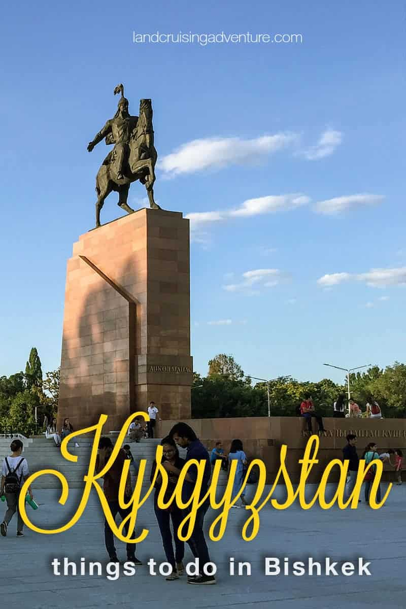 Places to visit in kyrgyzstan - Manas statue