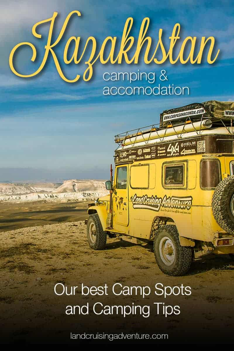 Wild Camping in Kazakhstan with the Land Cruiser