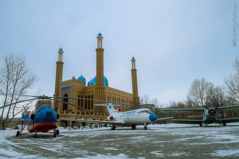 Sightseeing in Kazakhstan