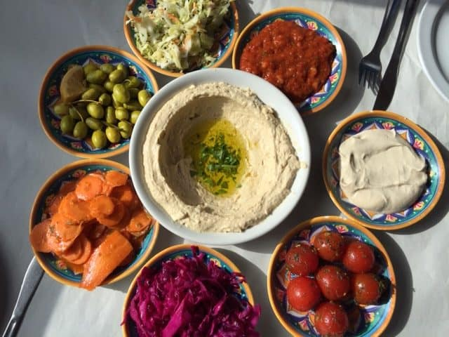 Food on the Israel National Trail