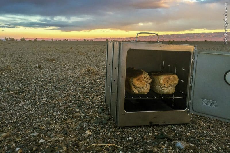 Coleman Camp Oven in Mongolia