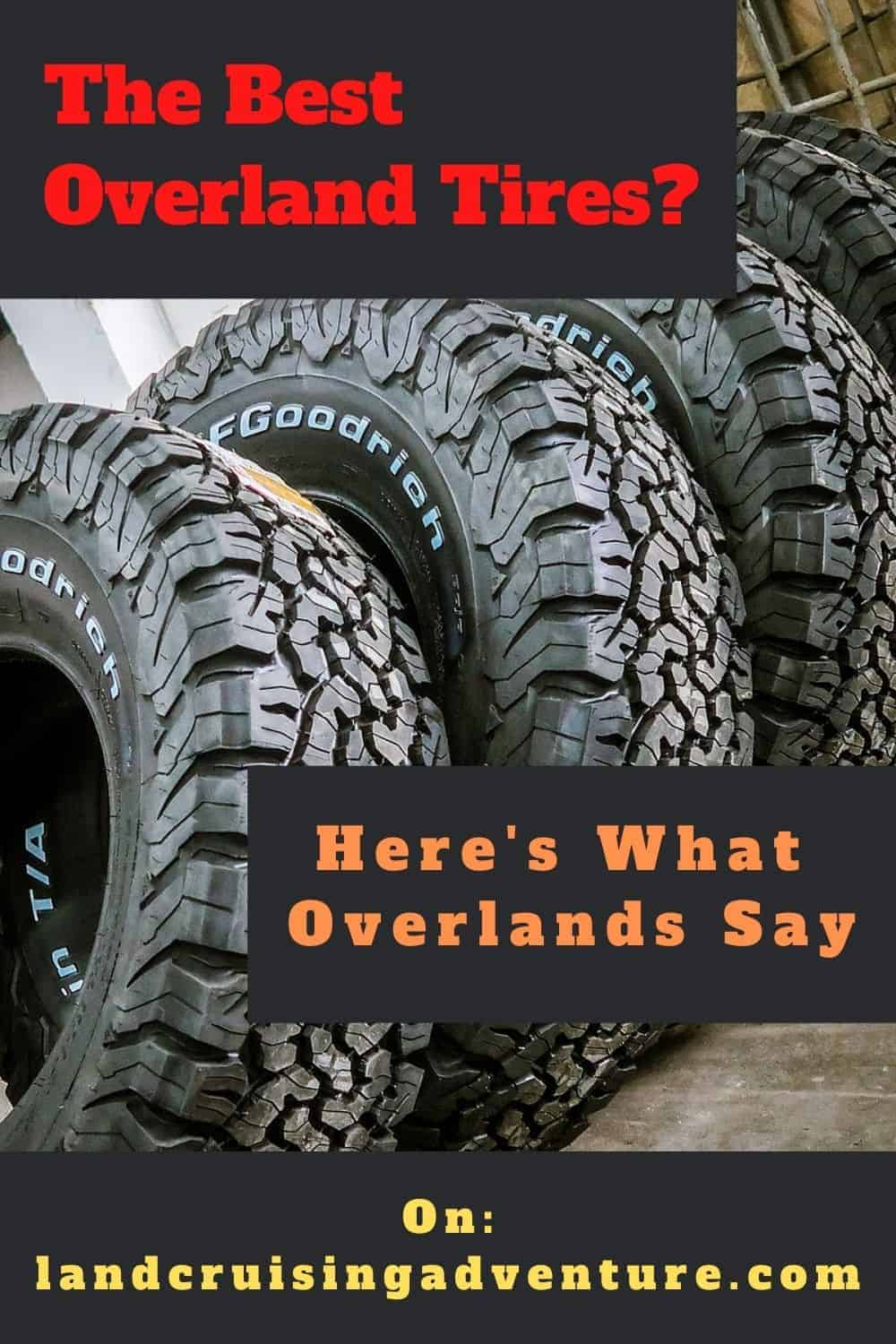 Overland tires - fat or skinny tires?