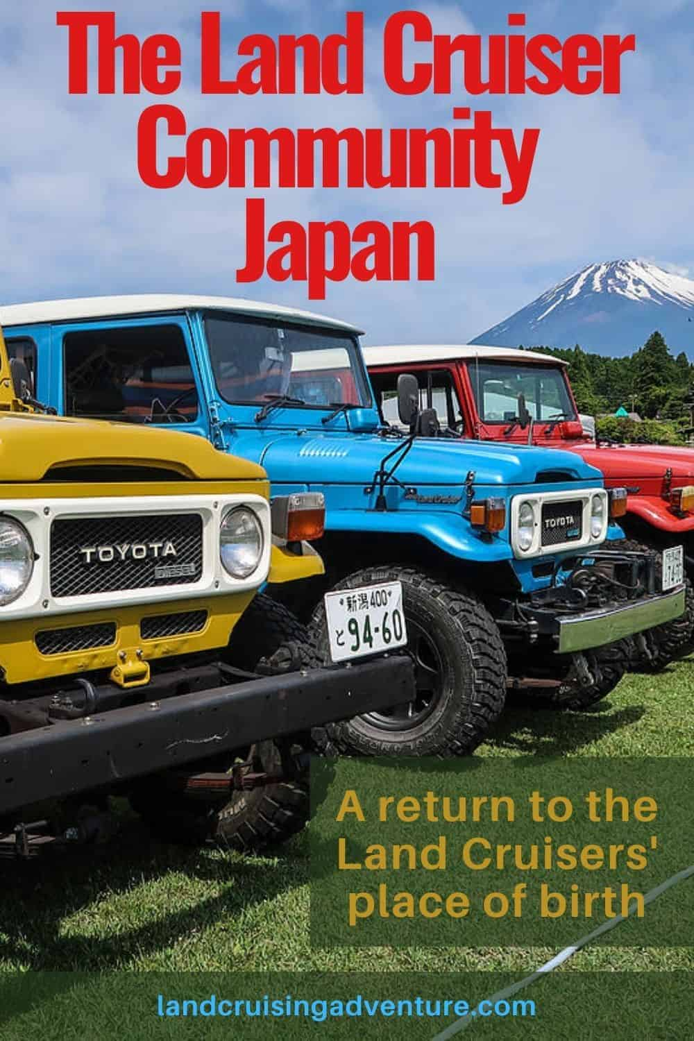 Japan Land Cruiser factory - home to many land Cruisers